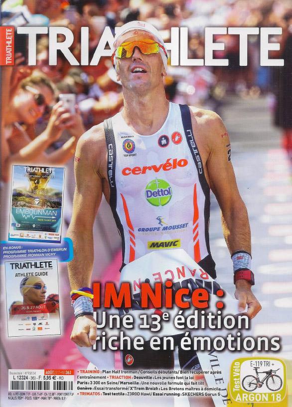 Triathlete Aout 2017