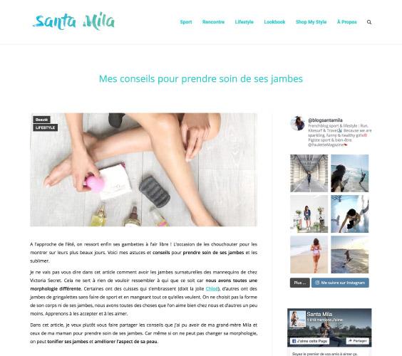 Blog Santa Mila